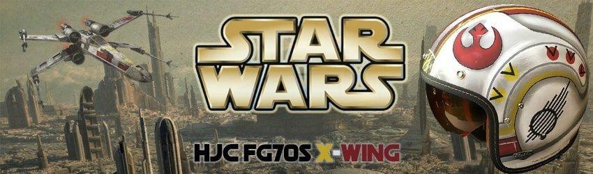Casco HJC FG70S X-WING